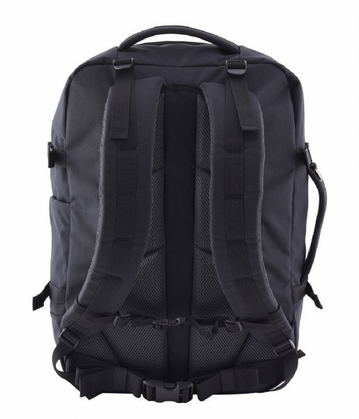 CabinZero Outdoor rugzak Military Cabin Backpack 44 L 15 Inch Absolute Black