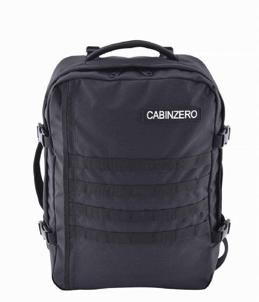 CabinZero Outdoor rugzak Military Cabin Backpack 36 L 17 Inch Absolute Black