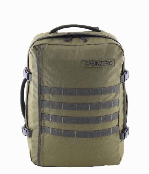 CabinZero Outdoor rugzak Military Cabin Backpack 36 L 17 Inch Military Green