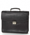 Castelijn & Beerens Handtassen Verona Document Laptop Bag 15.6 inch Zwart