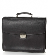 Castelijn & Beerens Verona Document Laptop Bag 15.6 inch zwart