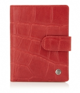Castelijn & Beerens Cocco Ladies Wallet Zip red