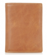 Castelijn & Beerens Canyon Billfold 9 Creditcards light brown