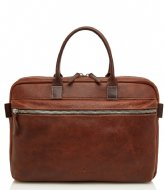 Castelijn & Beerens Rein Laptop Bag 15.6 Inch light brown