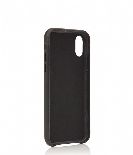 Castelijn & Beerens Smartphone cover Nappa Back Cover Wallet iPhone XR black