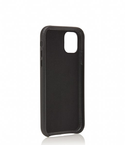 Castelijn & Beerens Smartphone cover Nappa Back Cover Wallet iPhone 11 black