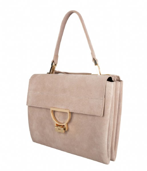 Coccinelle Handtas Arlettis Suede taupe