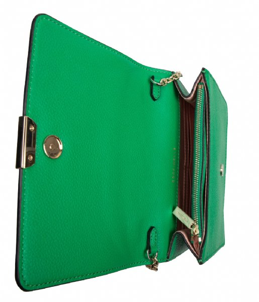 Coccinelle Crossbodytas Half alien green