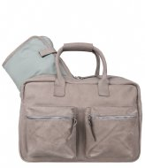 Cowboysbag The Diaper Bag Mint Inside elephant grey & mint inside