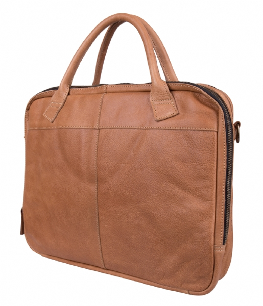 Cowboysbag Laptop schoudertas Laptop Bag Sterling 15.6 inch camel