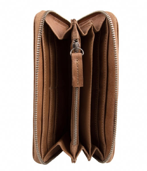 Cowboysbag Ritsportemonnee The Purse camel
