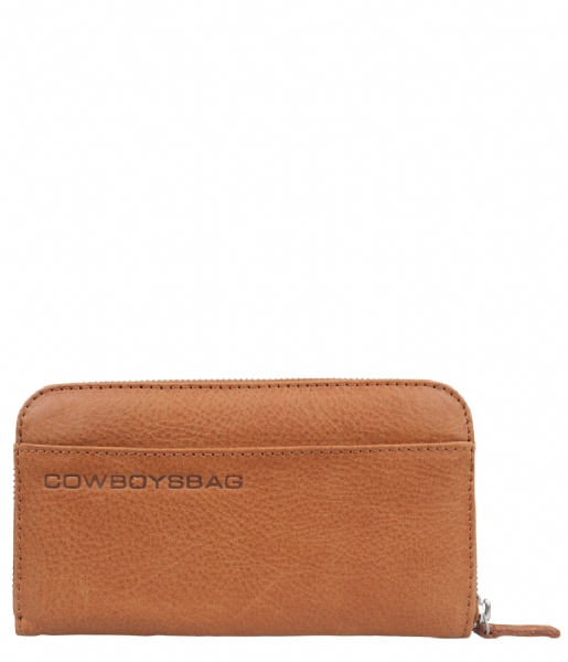 Cowboysbag Ritsportemonnee The Purse tobacco