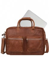 Cowboysbag The College Bag 15.6 inch cognac