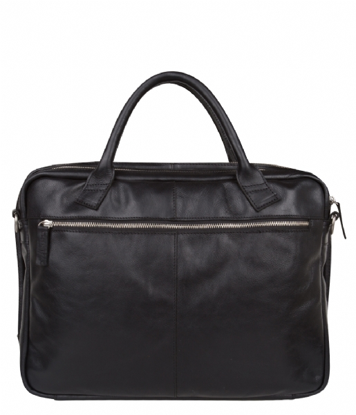 Cowboysbag Laptop schoudertas Bag Graham 17 inch black
