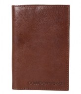 Cowboysbag Passport Holder Casper cognac