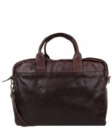 Cowboysbag Laptop Bag Logan 15.6 Inch brown