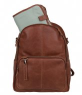 Cowboysbag Diaper Backpack Oburn cognac