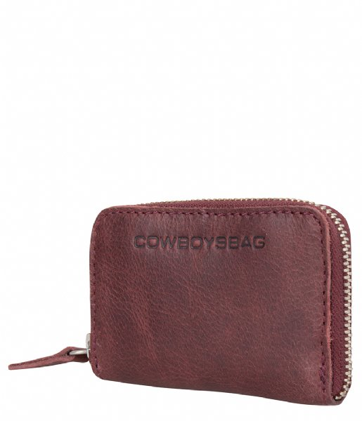 Cowboysbag Ritsportemonnee Purse Macon burgundy