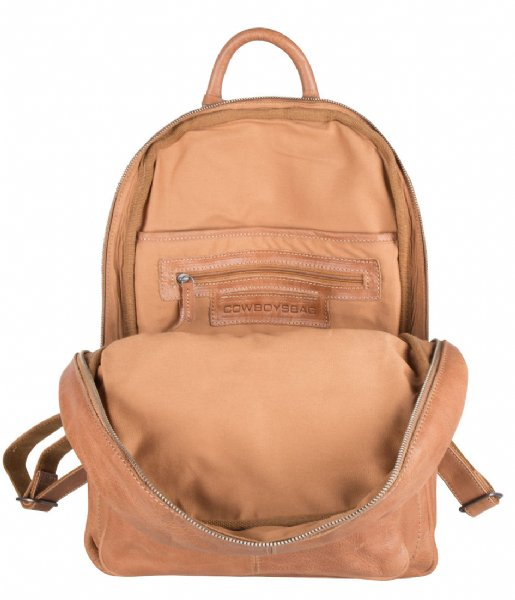 Cowboysbag Laptop rugzak Backpack Mason 15 Inch camel