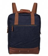 Cowboysbag Backpack Denton 15.6 Inch cognac