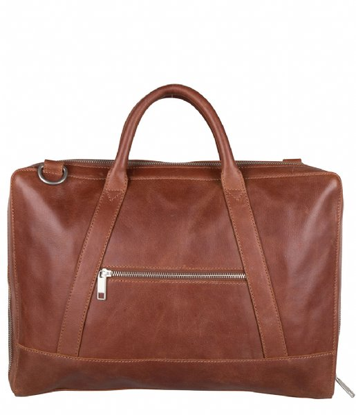 Cowboysbag Laptop schoudertas Laptop Bag Holden 15.6 Inch cognac (300)