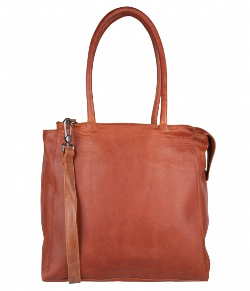 Cowboysbag Laptop schoudertas Laptop Bag Evi 15.6 Inch cognac (300)