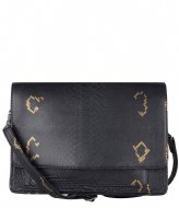 Cowboysbag Bag Onyx X Bobbie Bodt Snake Black and Gold (108)