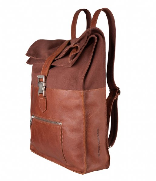 Cowboysbag Dagrugzak Backpack Hunter 15.6 Inch cognac (300)