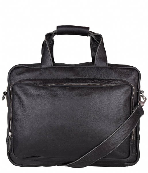 Cowboysbag Schoudertas Laptopbag Hush 15.6 inch Black (100)