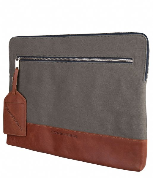 Cowboysbag Laptop sleeve Laptop Sleeve Philo 15.6 Inch cognac (300)