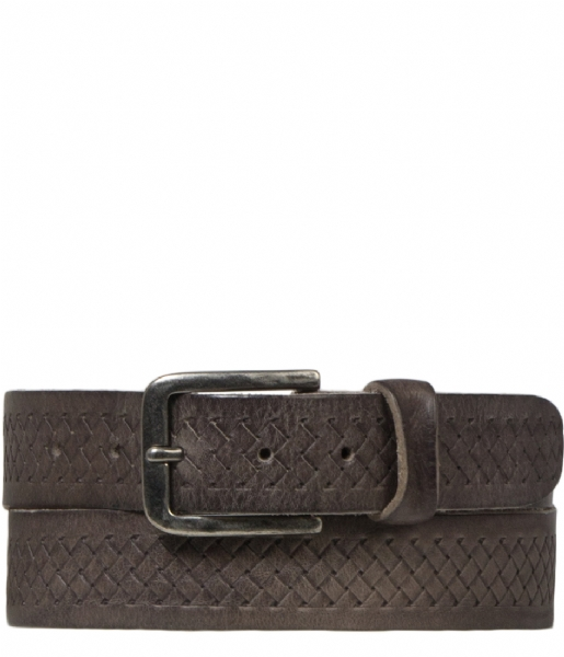 Cowboysbelt Riem Belt 351001 grey