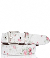 Cowboysbelt Kids Kids Belt 308040 white
