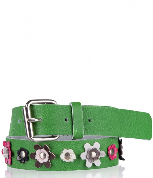 Cowboysbelt Kids Riem Kids Belt 308053 green