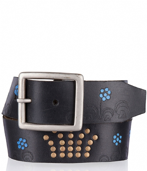 Cowboysbelt Kids Riem Kids Belt 3582011 black