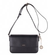 DKNY Bryant Medium Flap Crossbody black gold