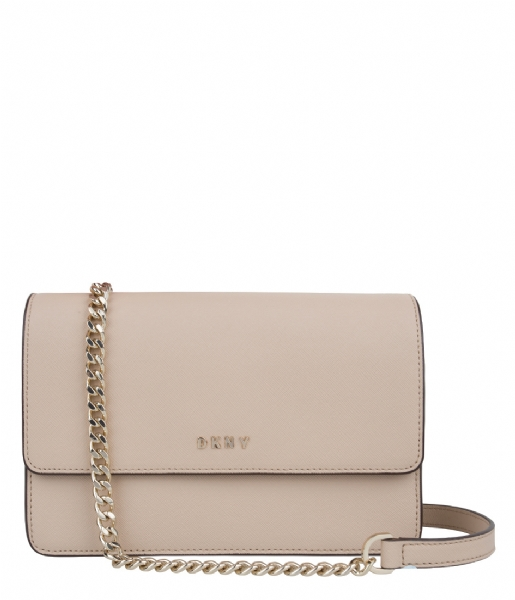 4af41088960 Bryant Park Chain Small Flap Crossbody nude (277) DKNY | The Little Green  Bag