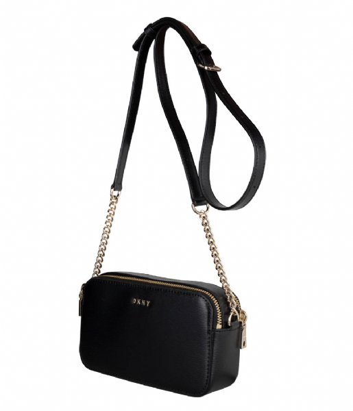 DKNY Crossbodytas Bryant Camera Bag Black gold