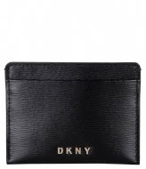 DKNY Bryant Card Holder S Black gold