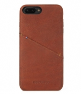 Decoded iPhone 6/7 Plus Leather Back Cover cinnamon brown