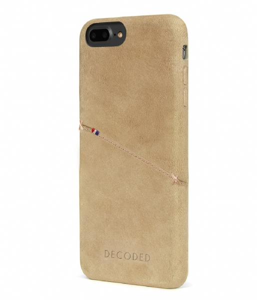 Decoded Smartphone cover iPhone 6/7 Plus Leather Back Cover sahara