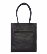 Decoded Leather Tote 15 inch black