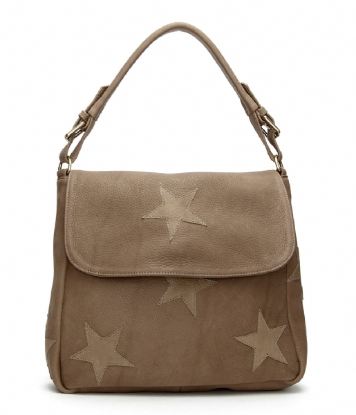fe46218a0c5 Pauline Bag Stars taupe taupe Fabienne Chapot | The Little Green Bag