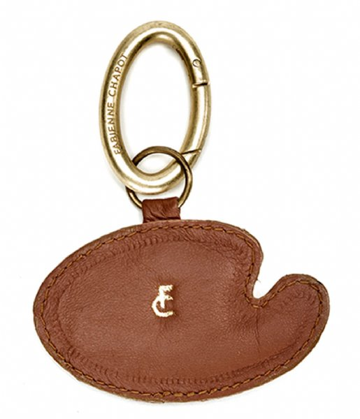 Fabienne Chapot Sleutelhanger Paint It Keyholder chocolate camel chili red