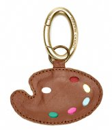 Fabienne Chapot Paint It Keyholder chocolate camel chili red