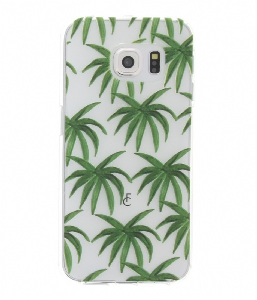 Fabienne Chapot Smartphone cover Palm Leaves Softcase Samsung Galaxy S6 Edge leafs