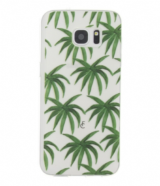 Fabienne Chapot Smartphone cover Palm Leaves Softcase Samsung Galaxy S7 Edge leafs