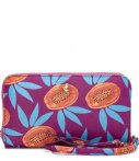Fabienne Chapot Clutches FC Logo Purse Small Printed Paars