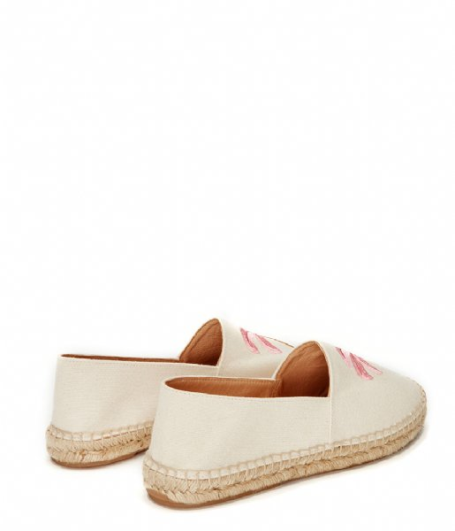 Fabienne Chapot Espadrilles Espadrilles Canvas Palm Embroidery cream canvas