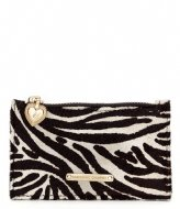 Fabienne Chapot Lucky Purse Hairy White/Black