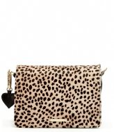 Fabienne Chapot Felice Bag Small Hairy Camel/Black
